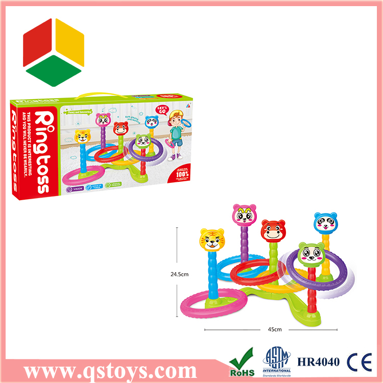 Plastic ABS colorful circle, cartoon circle toys for kids
