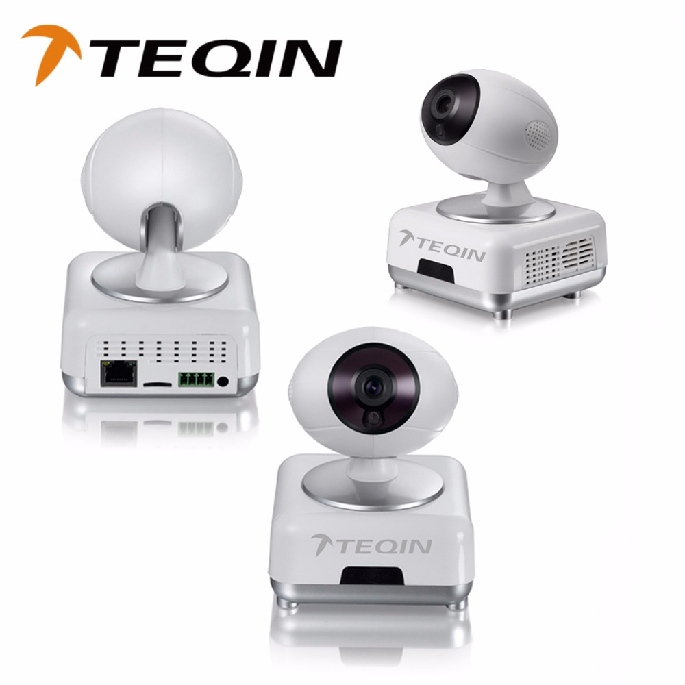 TEQIN 2016 new hot-selling HD 720P night vision wifi ip camera 720P Security Cameras digital