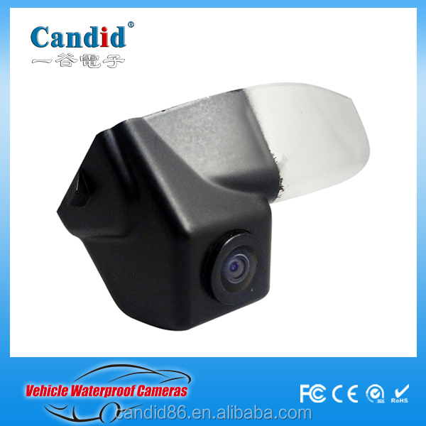 License Plate Mount HD Vision Best Hidden Camera for Car Parking System for Mazda 2/3 OE quality rear view camera