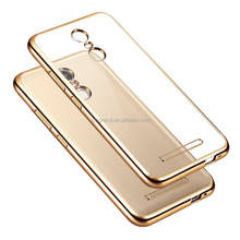 Luxury Ultra Thin Clear Crystal soft TPU Electroplating Case For Xiaomi Redmi Note 3 3 PRO