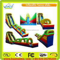 2015 Newest durable slide inflatable bouncy castle slide for sale