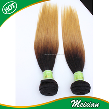 brazilian Ombre Human Hair Bundles 7a Grade Ombre Hair extensions Factory Wholesale Hair Weave