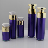 popular round face cream cosmetics packaging bottle and jar for sale