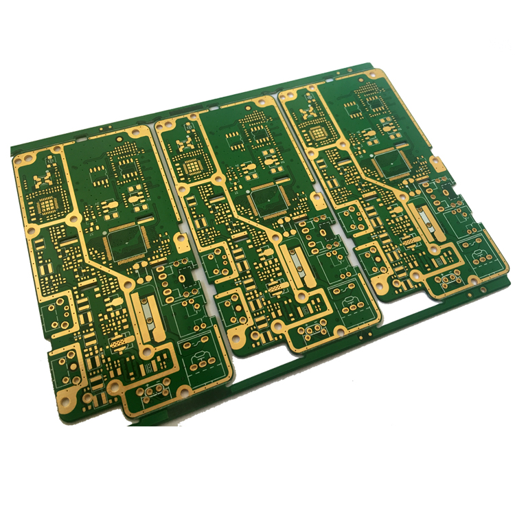 ENIG Surface Finishing 10-Layer Shenzhen pcb design service project
