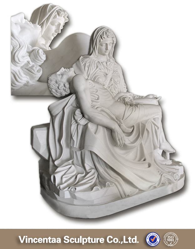 High quality church religion marble image of virgin mary