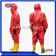 prime quality Chemical protective suit for fireman's <strong>safety</strong>