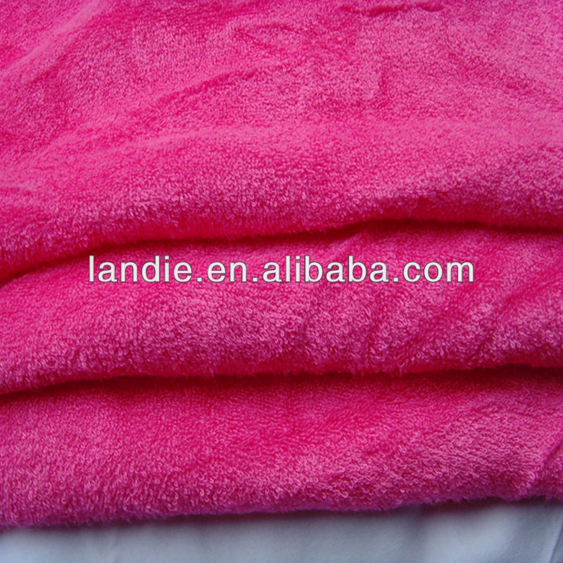 100 bamboo terry toweling fabric wholesale