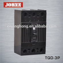 Black TQD 3 Phase Moulded Case Circuit Breaker