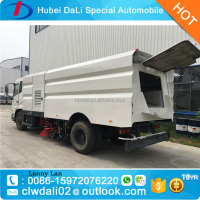 Dongfeng 4x2 Chassis vacuum sweeper road sweep truck sale sweeping machine