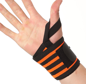 oem badminton wrist support/thumb wrist support/comfortable knitting wrist support