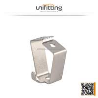 Stainless steel s hook for picture security display