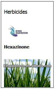 chenical used in agriculture of hexazinone