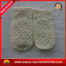 Customized fashion travel socks inflight tube socks disposable foot socks