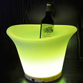 Cool Party LED Ice Bucket Event Night Club KTV LED Beer RGB Color-Changing Flashing Light ice Pail Wine ice Buckets