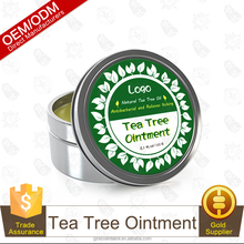All Natural Tea Tree Essential Oil Ointment Antibacterial And Relieves Itching