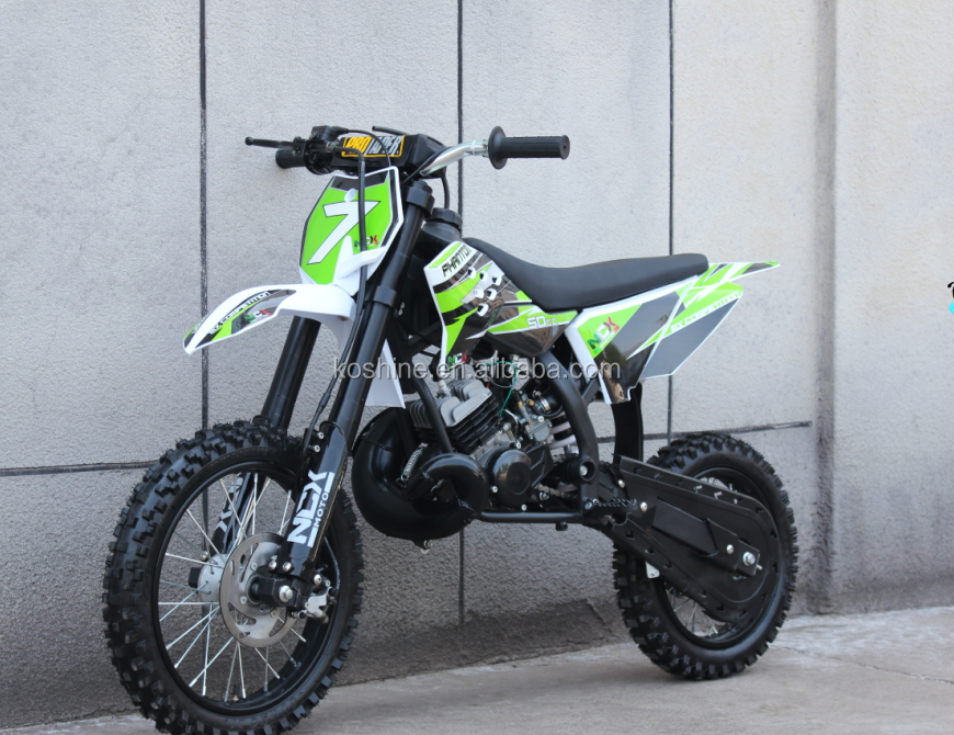good quality export newly assembled 50cc dirt bikes
