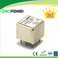 PE1000 chip pcb-mounting pin power line emi suppression filter for controller measurement equipment