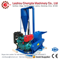CF500A 55HP electric start diesel wood crusher with cyclone