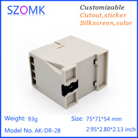2016 hot selling enclosure box for pcb plastic plc enclose