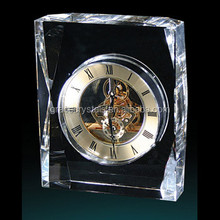 Office sets table stand crystal clock
