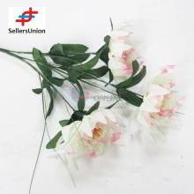 No.1 yiwu exporting commisssion agent wanted import China white 50cm artificial flower arrangements