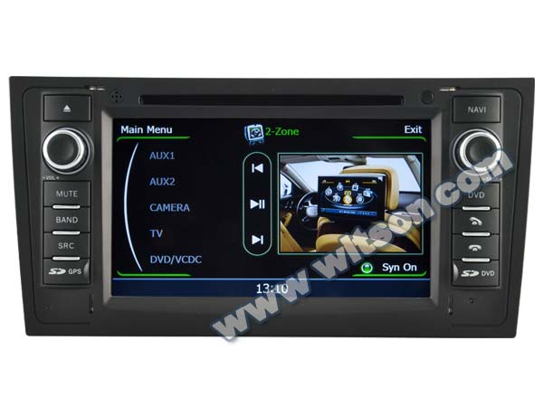 WITSON FOR AUDI A6 car audio dvd gps WITH A8 CHIPSET DUAL CORE 1080P V-20 DISC WIFI 3G INTERNET DVR