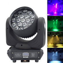 Martin mac aura 19*15w RGBW 4IN1 LED zoom wash moving head light
