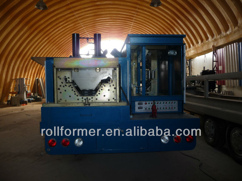 CS-1000-680 changsheng K Q arch covering cold aluminum roll forming machine