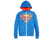 comics children's sports suits hoodie manufacturers superman hoodie