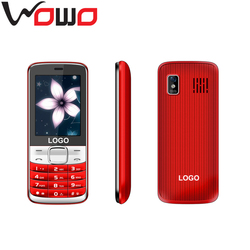 latest 2.4 inch long talk time New GSM cell phone feature mobile phone OEM factory price X2