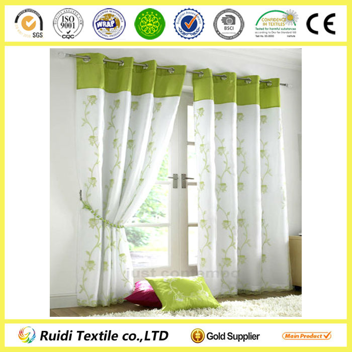100% polyester Blackout Hotel Curtains/ Drapery window curtains