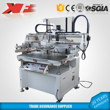Transfer Labels screen printer with vacuum table