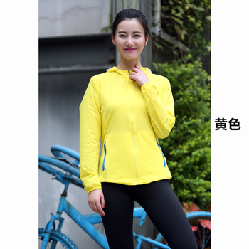 HOt sale Summer wear anti-uv woman jacket popular woman sun protection clothing