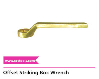 offset striking box wrench