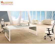 2018 hot modern glass office desk executive wooden office desk office table from china