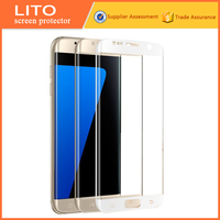 9h milo 3D full cover tempered glass screen protector for S7edge