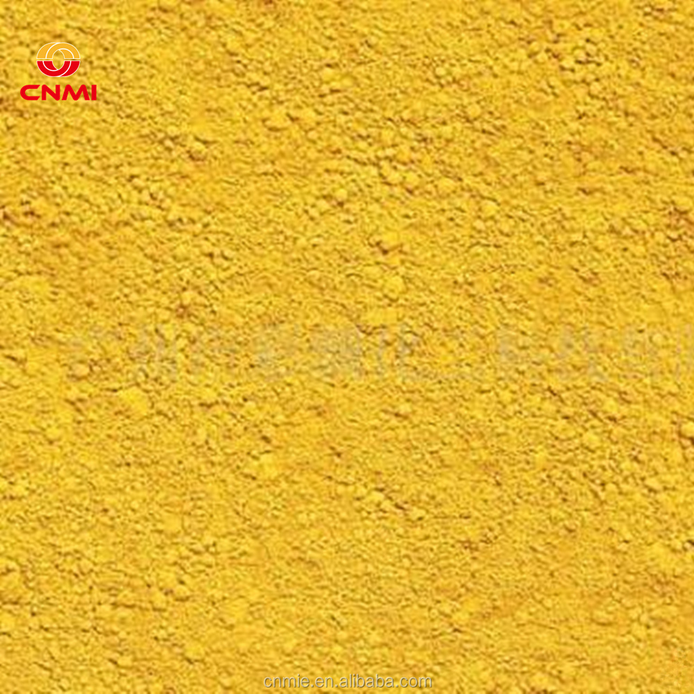 Iron Oxide Pigment Yellow 313 Prices Powder Fe2O3 Catalyst Bayferrox Desulfurizer UV light photochromic pigment color change PI