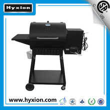 Barrel Wood Pellet Charcoal Smoker BBQ Barbecue Grills with Rolling Cart for Outdoor Backyard