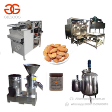 Full Automatic Small Scale Complete Tomato Paste Grinding Processing Plant Fruit Jam Marmalade Almond Butter Production Line