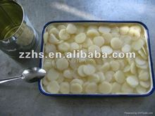 Fresh Canned Water Chestnuts Sliced