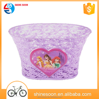 Factory price custom made bicycle accessories front and head bike basket