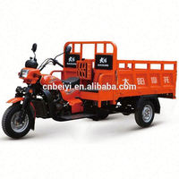 High Quality 300cc open Container Triciclo Cargo 3 wheeler With for sale In Morocco