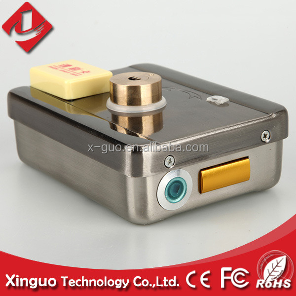 rfid electric door lock for hotel card key lock system,smart hotel card door lock access control system