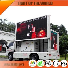 P8 P10 P6 LED truck display /mobile screen LED trailer screen /led video food advertising trailer