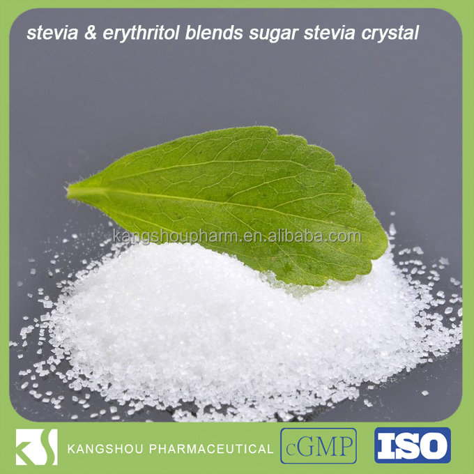 stevia & erythritol blends sugar stevia crystal