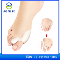 Wholesale New Products Silicone Gel Toe Separator Bunion Protector Straighten Orthotic