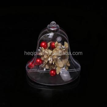 Wholesale Clear Plastic Ball Christmas Ornaments Diy Christmas Tree