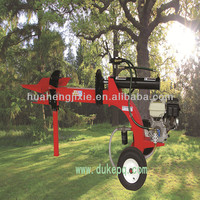 Camber Beam Diesel Trailer Log Splitter For Sale,CE Certified
