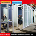 Modern Aluminum Glass Office Partitions Wall