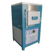 Ceramic Fiber Chamber 1400C Laboratory Electric Furnace With High Temperature( SIC ) Heaters